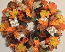 thanksgiving deco mesh wreath fall deco mesh wreath fall