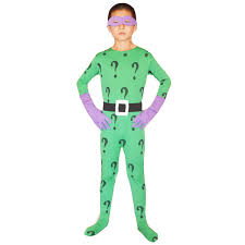 Riddler Halloween Costume Aliexpress Buy Batman Cosplay Halloween Costumes Kids