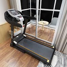 electric folding treadmill app bluetooth control motorised running