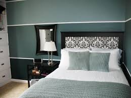 Wall Painting Ideas by Creative Teal Interior Paint Ideas In Teal Bedroom 990x990