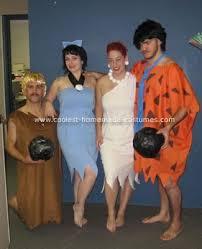 Flintstones Halloween Costumes Coolest Flintstones Homemade Group Costume