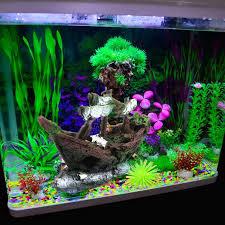 aquarium decor boat promotion shop for promotional aquarium decor