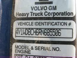 volvo gm heavy truck 1994 volvo aero wia semi truck item 2282 sold october 5