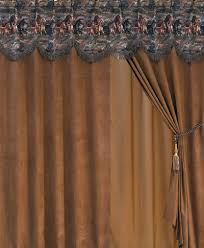 running horse southwestern curtains drapes valances cabin place
