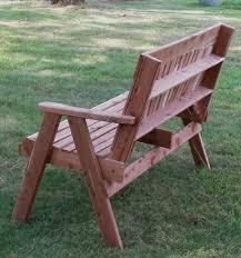 cedar garden benches sliders church pews red cedar or redwood