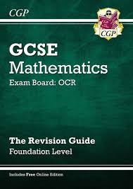 gcse maths ocr revision guide with online edition foundation