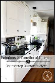 functional kitchen ideas fabulous and functional kitchens counter top clutter busters