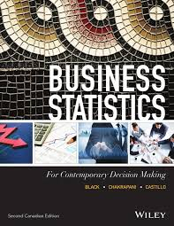 black business statistics 2nd canadian edition by john wiley and