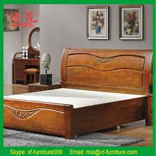 emejing wooden double bed designs for homes gallery interior