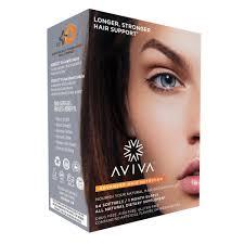 advanced hair nutrition 1 month supply aviva hair