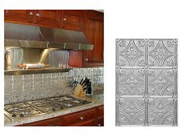 interior awesome metal backsplash stainless steel backsplash jpg