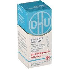 bindegewebsschwäche homöopathie dhu silicea pentarkan shop apotheke