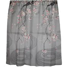 Japanese Shower by Traditional Japanese Cherry Blossom Art Shower Curtain Shower
