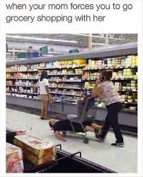 Grocery Meme - 22 meme internet when your mom forces you to go grocery shopping