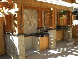 Patio Kitchen Design by Kitchens With Concrete Countertops Zamp Co