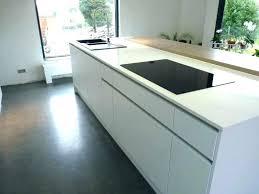 plan de travail cuisine blanc brillant plan de travail cuisine en quartz plan de travail laque blanc