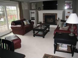 decorating ideas alluring design ideas using brown leather sofas