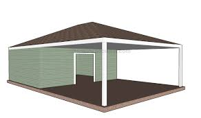 carport plans attached to house carport designs howtospecialist how to build step by step diy