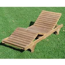 Teak Chaise Lounge Teak Wood Chaise Lounge Sam U0027s Club