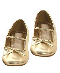 old friends slippers girls gold ballet slippers costume shoes