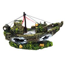 aquarium decorations boat promotion shop for promotional aquarium