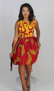 sasha set top u0026 and mini skirt african ankara print ashanis