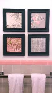 Pink Tile Bathroom by 221 Best How To Use Vintage Wallpaper Scraps Images On Pinterest