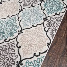 White And Black Area Rug Teal And Black Area Rug Roselawnlutheran