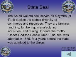 South Dakota travel symbols images South dakota mount rushmore state click here for information jpg