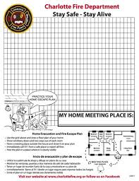 home escape plan fire and life safety education fire escape plans