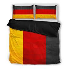 British Flag Bedding German National Flag Duvet Cover 2 Pillow Cases U2013 Military Gifts