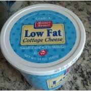 Calories In Lowfat Cottage Cheese by Market Basket Low Fat Cottage Cheese Calories Nutrition Analysis