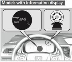 honda crv 2009 warning lights on dashboard indicator oil reset light service honda cr v indicator reset light