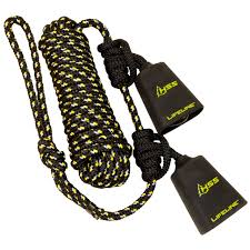 amazon com hunter safety system reflective tandem lifeline with