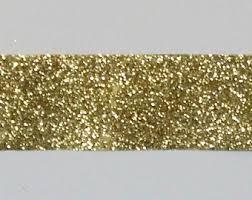 gold glitter ribbon gold glitter etsy