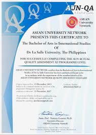 quality assurance resume sample quality assurance certificate template contegri com de la salle university qao aun certificate gallery
