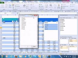 Excel 2010 Pivot Table Advanced Excel 2010 Pivot Table U0026 Slicers Youtube