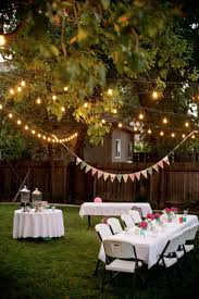 White Patio Lights by Best 25 Backyard Party Decorations Ideas On Pinterest Backyard