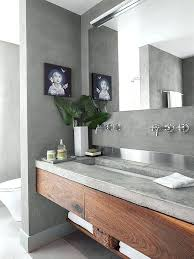 bathroom sink on top of vanity reasons to use concrete in your