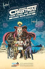 wars christmas carol and s comic book shop wars christmas party and
