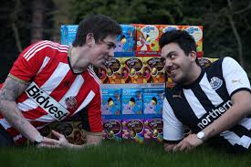 privacy policy dishout wear tyne derby rivals dish out eggs to sick children in hospital