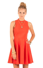 orange dress orange skater destiny dress by others follow on storenvy