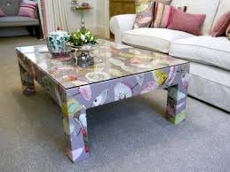 coffee tables crushed velvet ottoman storage black large fabric
