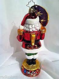 radko nutty nick santa nutcracker ornament new christopher radko