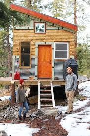 micro cottage tim and hannah u0027s affordable diy self sustainable micro cabin