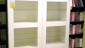 Bookcase With Doors White White Bookcase With Doors Ikea Modern Awesome Bookshelves Glass