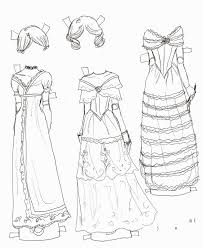 black and white drawings of dresses latest fashion style