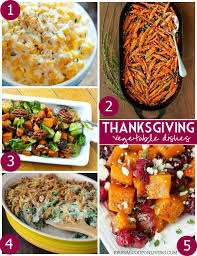 25 mouthwatering thanksgiving side dishes