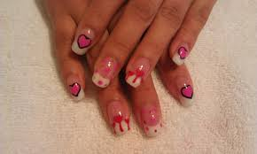 off with their heads queen of hearts nail art chalkboard nails i