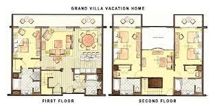 treehouse villa floor plan saratoga springs 3 bedroom villa floor plan glif org